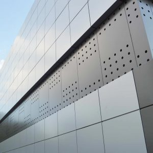 Aluminum Plate Panels Cladding System