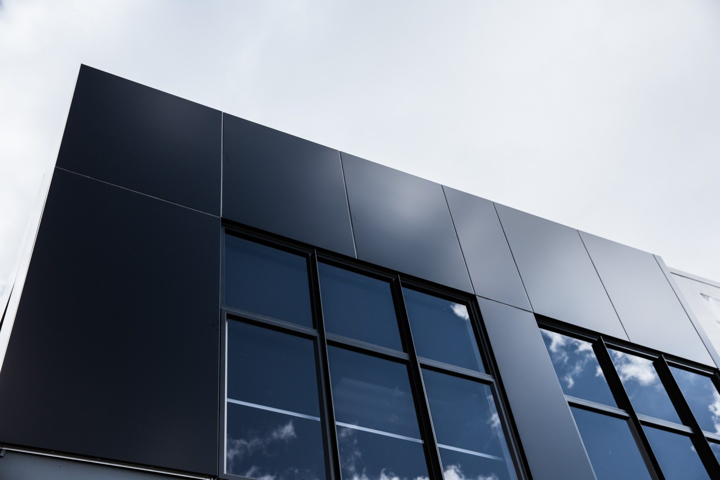 Different types of exterior wall panels